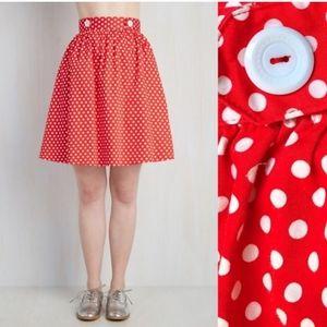 ModCloth -Lively Lifestyle Skirt